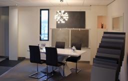 Betonlook vloeren showroom