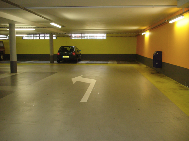 Coating parkeergarage